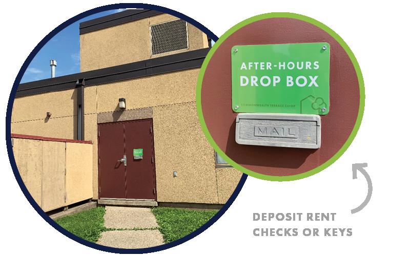 Community Center External Drop Box