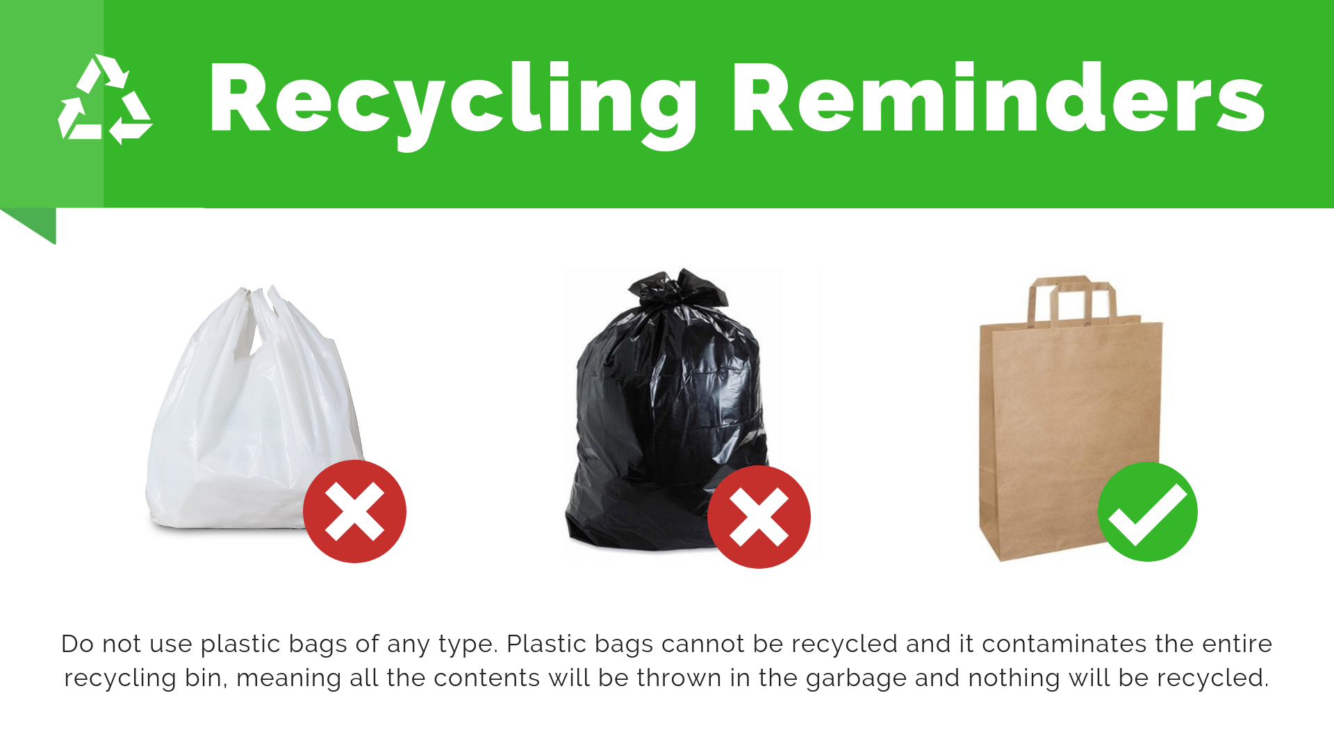 Where To Recycle Plastic Shipping Bags